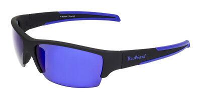BluWater® Daytona 2 GTB Polarized Sunglasses - G Tech Blue (Blue Tech Sunglasses)