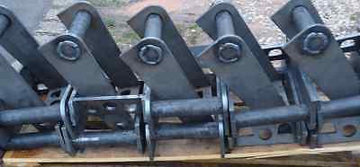 5x Adapterrahmen System MS03 zum Löffelumbau Anschweißrahmen 2-5to Minibagger