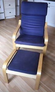 Arm Chair with Footstools