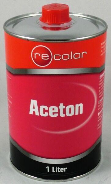 7,79€/L  Aceton 1 Liter Verdünner Reiniger 1l Entfetter Lösemittel Lackentferner