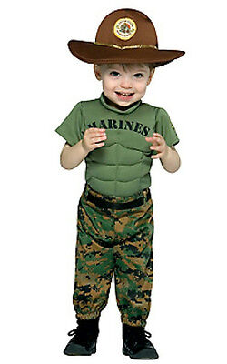 Marine Corps Marine Uniform Infant Toddler Costume 6-12 - Marine Corps Costume