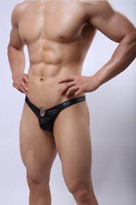 String homme imitation cuir avec anneau devant (taille S)