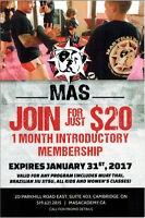 MAS ACADEMY $20 FOR 30 Days