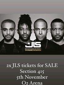 *** 2 JLS Tickets O2 Arena 5th November***