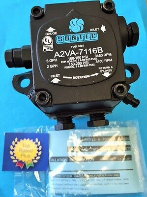 A2va-7116b Suntec Bio-diesel Oil Burner Pump New