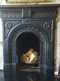 Cast iron fire surround - excellent condition