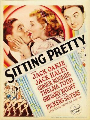 Sitting Pretty - 1933 - Ginger Rogers  Harry Joe Brown pre-Code Comedy Film DVD