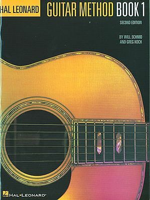 HAL LEONARD GUITAR METHOD MUSIC BOOK 1 INSTRUCTION 51 SONGS BRAND NEW ON