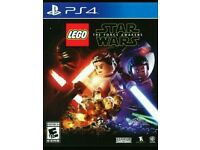 Lego star wars the force awakens ps4 brand new game