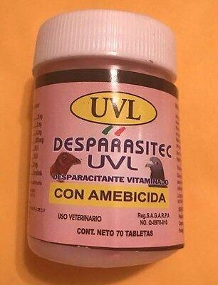 Uvl Deparasitec Dewormer 70 Tablets