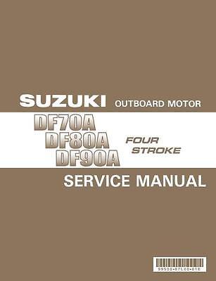 Suzuki DF70A-80A-90A service manual