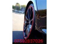 Alloy wheel protection Mercedes AMG C63 CLA S63 SLK CLK A45 CLS E55 GLE GLS CLC CL