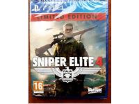 Sniper Elite 4, PS4 - Brand New