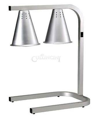 Adcraft Heat Lamp Aluminum Dual Lamps Adjustable Height - Hl-2