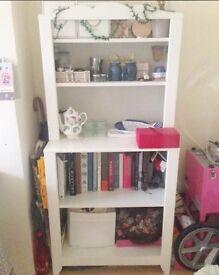 White Storage / Display shelf IKEA