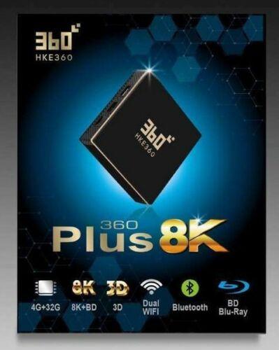 HKE360 360Plus Gen5 五代 8K盒子 32GB TV版 全球最穩定 中港台日韓電視盒EVPad FunTV Unblock Tech全球聯保