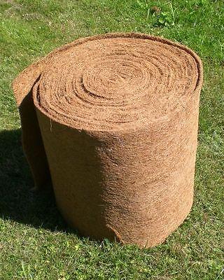 Kokosmatte  5 m x 0,50 m, Winterschutz, Kokosfasermatte, Pflanzkübel