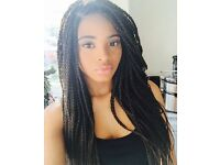 Marie Afrocaribbean hairdresser-Experience mobile hairdresser, weaving ,braids,cornrowsand plaaits