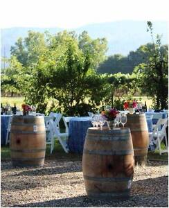 Wine Barrel Hire $20 Stools $8 Dernancourt Tea Tree Gully Area Preview