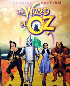 Wizard of Oz Movie Poster - Plaque mounted