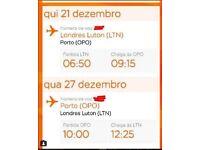 Luton-Porto flight tickets
