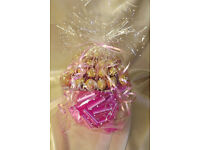 Ferrero Rocher Chocolate Bouquet - Sweet Hamper Tree Explosion/ Vase bouquet - Perfect Gift
