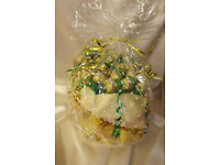 Ferrero Rocher Chocolate Bouquet - Sweet Hamper Tree Explosion - Perfect Gift/Gold/VaseE