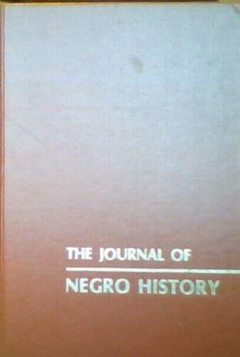 THE JOURNAL OF NEGRO HISTORY 1917 Vol 2 RARE Volume