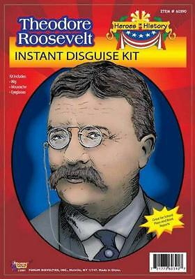 Theodore Teddy Roosevelt Instant Disguise Costume Kit (Theodore Roosevelt Costume)