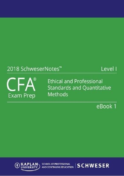 2018 CFA Level 1-2-3 Curriculum,Schweser QBank