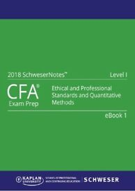 2018 CFA Level 1-2-3 Curriculum,Schweser QBank, Schweser Exams Secret Sauce, Schweser Study Notes