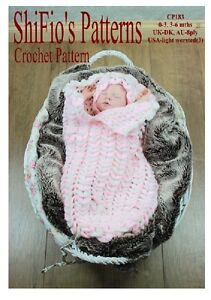CROCHET-PATTERN-for-BABY-COCOON-PAPOOSE-0-3-3-6mths-183-by-ShiFio-patterns