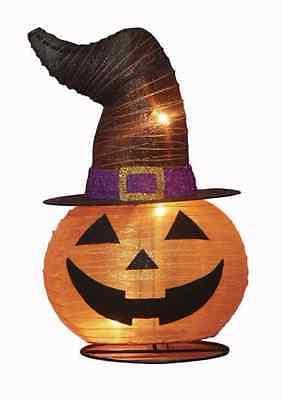 Fall Halloween Eerie Alley 20'' Pop-Up Pumpkin with Hat Yard Outdoor Decoration (Outdoor Pumpkin Decorations)