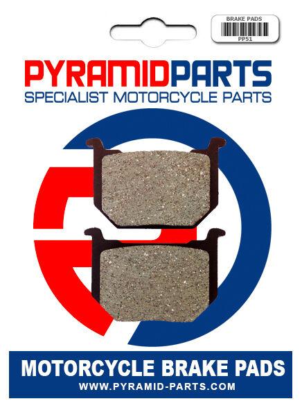 Pyramid Parts Front brake pads for: Suzuki GN250 85-97