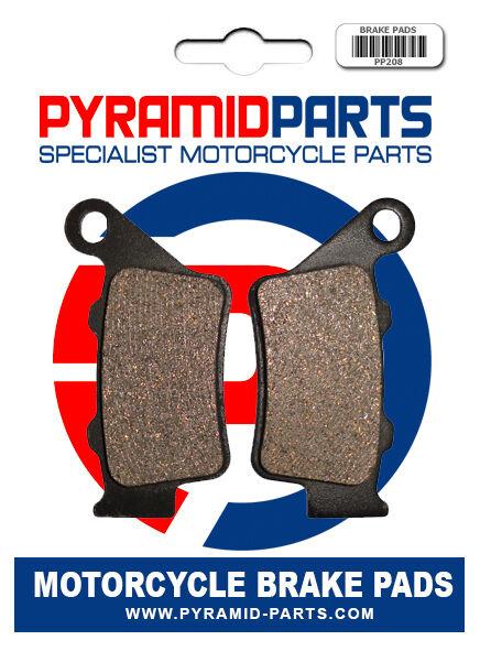 KTM RC 125 2014 Rear Brake Pads