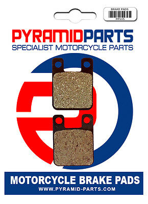 Front Brake Pads for Simson 125 Star 1999