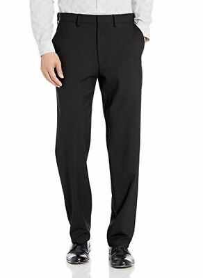 NWT JM HAGGAR MEN'S BLACK CLASSIC FIT PREMIUM STRETCH SUIT PANTS 44 X 30