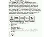 Pioneer FH-X720BT car stereo