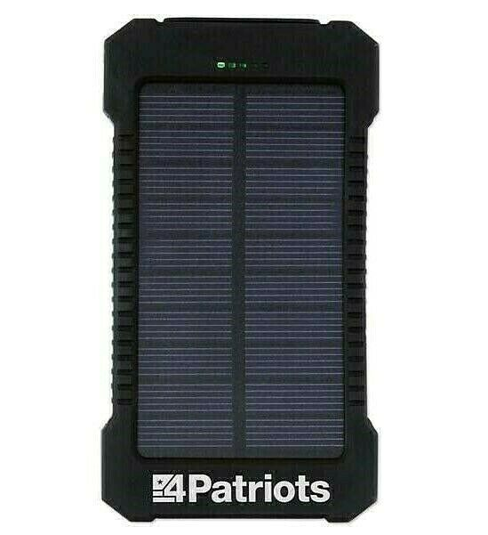 genuine patriot power cell solar phone charger