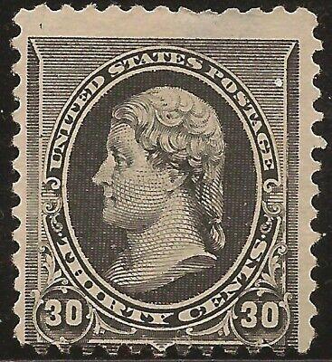 1890 SC #228 Mint F - 30c black Jefferson NG - CV $325.00 (42888)