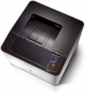 Samsung CLP 415NW Wireless Color Laser Printer, 2-Line LCD, High Speed 18 ppm for Mono/Color, 512 MB MAX RAM