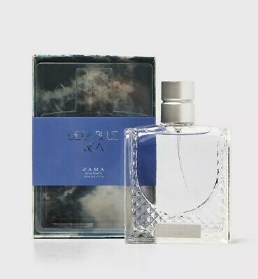 ZARA MENS DEEP BLUE SEA EDT EAU DE TOILETTE  100ML NEW Free Postage