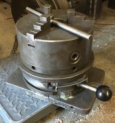 Walter Dapra 8 Super Spacer Indexer 3 Jaw Chuck Machinist Milling Machine Tool