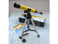 National Geographic Land & Sky Telescope with Tripod, 30x Magnification and Boxed £3