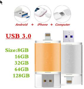 USB 3.0 Flash Drive Usb Flash Drive HD Pendrive Lightning Data f