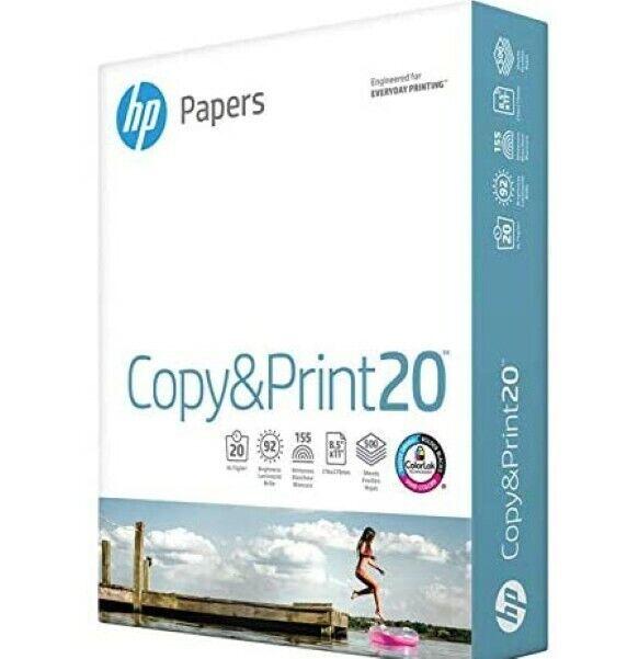 Copy Paper Printer Paper 8.5x11 - 1 Ream 500 Sheets Compatible 200060