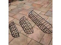 Smiths Garden Wall Baskets
