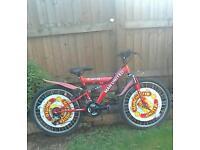 Red Manchester united bike