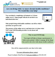 Volunteers Needed for Health Research Study