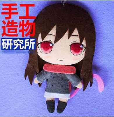 Japanese Anime Noragami Iki Hiyori Cosplay Costume DIY Kits  toy Doll keychain (Diy Anime Costume)